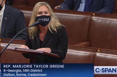 Domestic terrorist? Democrat seeks to expel Rep. Marjorie Taylor Greene from House