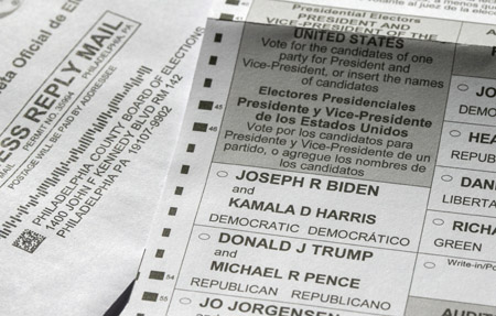 Data scientists: Over 430,000 votes taken from President Trump in Pennsylvania
