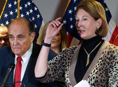 Dominion Voting Systems sues Giuliani, Powell after avoiding legal scrutiny