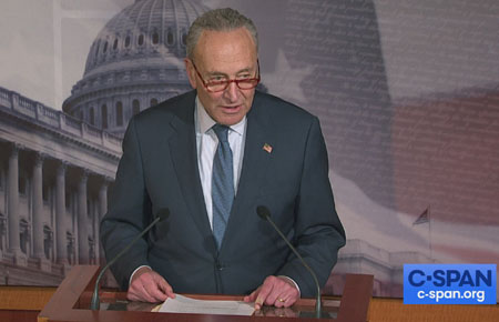 Schumer: Senate will hold impeachment trial; McConnell turns on the president