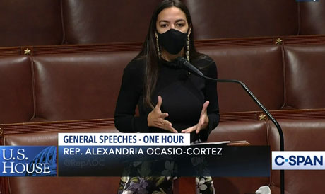 What took her so long? Ocasio-Cortez gets behind The Purge