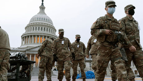 War zone in D.C.: Democrats hit for 'paranoia' over Guard's politics; FBI deployed to vet troops