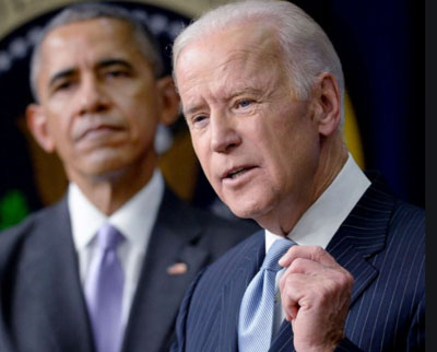 As Obama's 'transformative' Progressivism takes power, 'Moderate Joe' is handed a pen