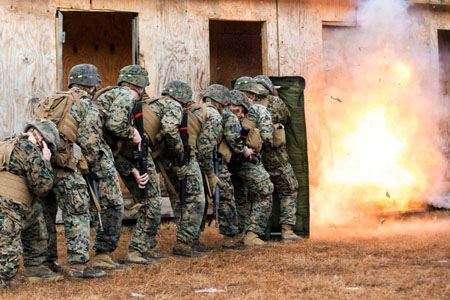 Famed 8th Regiment is deactivated by Marine Corps