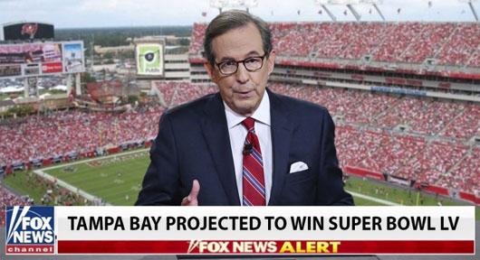 Fox calls it for Tampa Bay early in first quarter; Outcome of Super Bowl LV may not be known for weeks