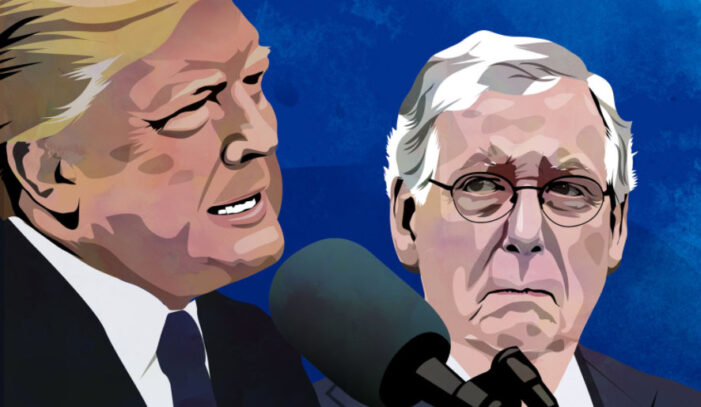 Trump rips McConnell: 'Beltway First' agenda, China ties, Georgia 'disaster'