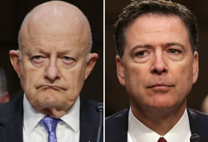 Comey signed FISA warrant on same day he told DNI that FBI could not verify 'dossier'