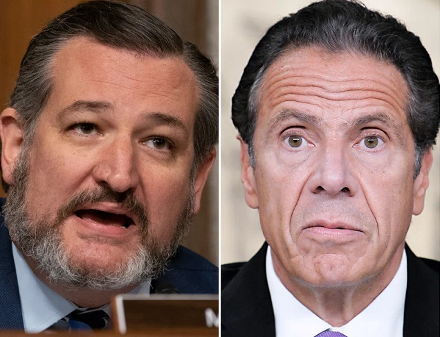 Media goes wall to wall on Cruz's trip to Cancun, yawns at growing Cuomo scandal