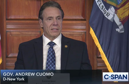 Cuomo issues first apology . . . to fellow Democrats, not families of the dead