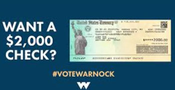 Biden, Democrat Party lied about $2,000 stimulus checks