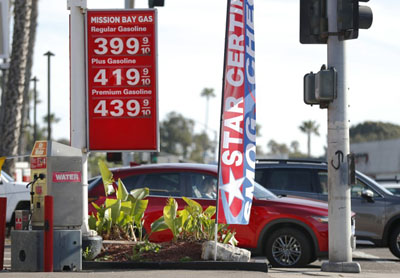 New U.S. war on energy being felt at the pump: Gas prices up 18 percent