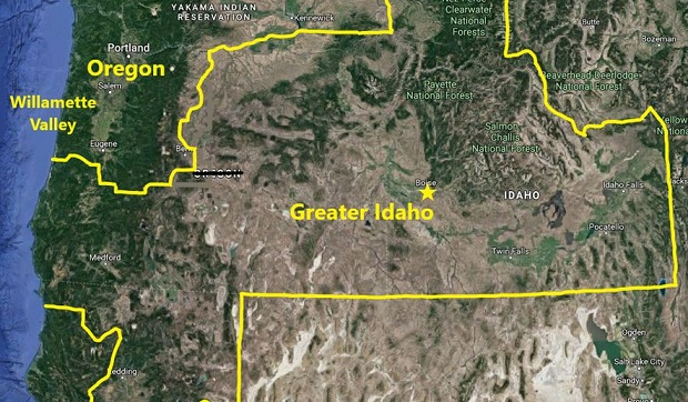 Greater Idaho? 5 counties set vote on bailing from Oregon