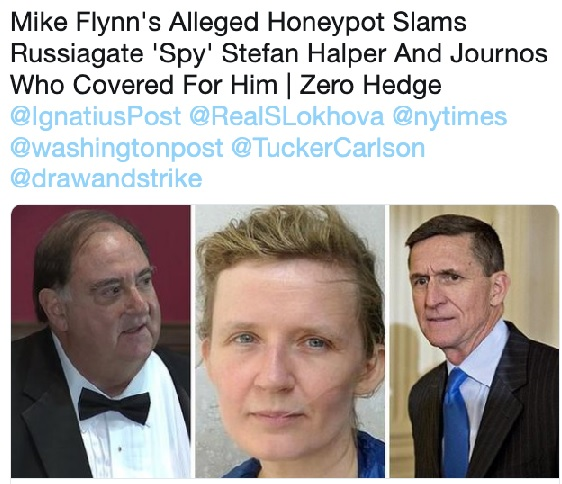 Declassified FBI document reveals Stefan Halper as 'confidential human source' used to frame Flynn