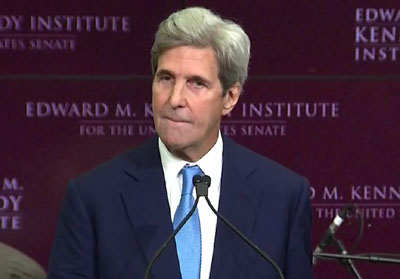 Thank me very much: Climate change hero Kerry grants self private-jet privilege