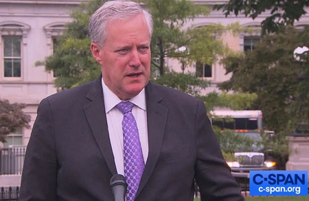 Meadows: Congress spurned Trump's offers to deploy 10,000 National Guard to D.C. ahead of Jan. 6