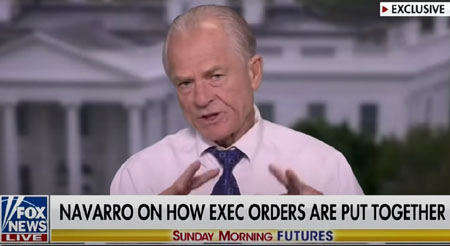 Navarro: Bill Barr fast tracked Biden executive orders in 'Deep State coup'