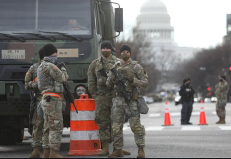 Report: Biden orders military occupation of D.C. to continue through Fall of 2021