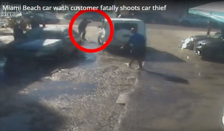 Stand your ground: Florida citizen who shot, killed car thief won't be charged
