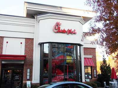 Armed Chick-fil-A customer foils armed robbery