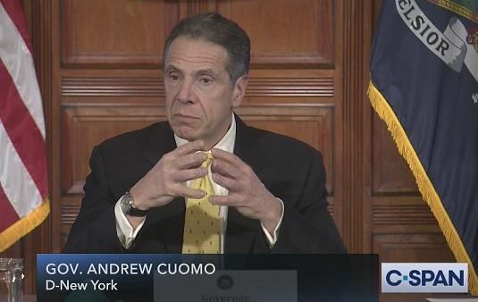 Leftists in media who fawned over Cuomo now change their tune