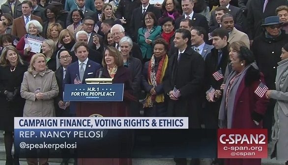 House passes HR-1: Bill enshrines new voting strategy that brought Democrats to power