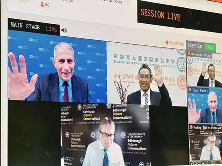 Fauci makes nice with Chinese communists at 'Future of Health' forum