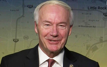 Arkansas governor signed near total ban on abortion as 'direct challenge' to Roe v. Wade