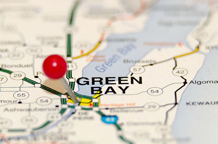 Who counted the votes in Green Bay, Wisconsin last November?