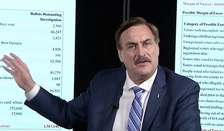 Lindell: 'Foreign adversaries' used 2010 U.S. census data for attack on 2020 election