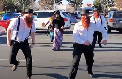 The maskless heresy: Amish commandos rawhide Target