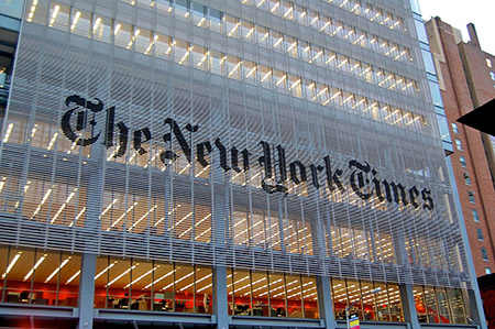 Judge rules NY Times used 'disinformation' tactics against Project Veritas