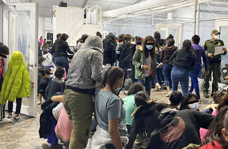 A border agent shares horror stories about migrants, facilities