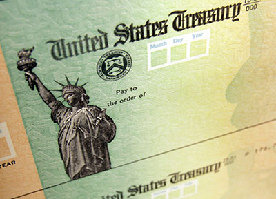 Could your $1,400 stimulus check be intercepted?