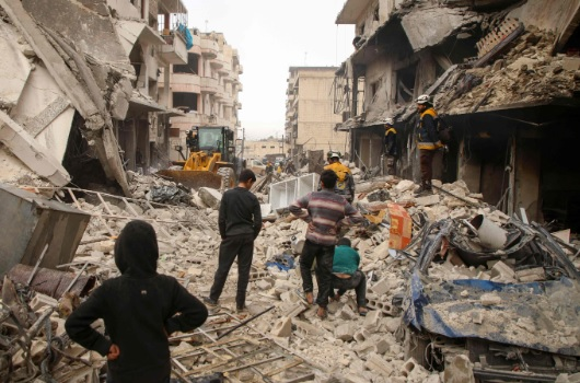 Syria's decade of despair: 500,000 dead as conflict churns on