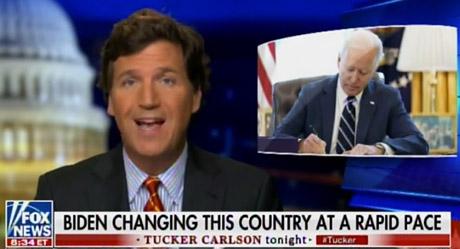 Pentagon fires back with 'revulsion' after Tucker Carlson mocks 'weak' U.S. military