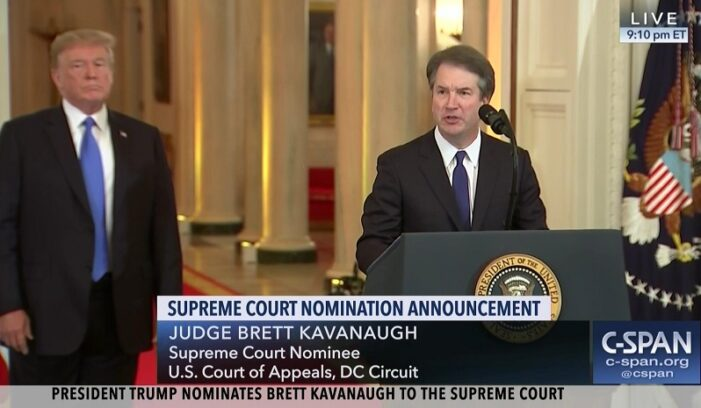 Trump slams 'gutless' Court; Kavanaugh breaks with conservatives; 'Socially liberal'?