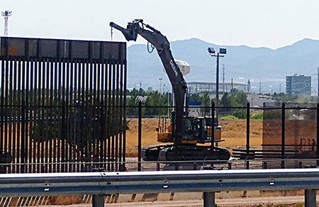 Biden's order to stop wall construction costing taxpayers $6 million per day