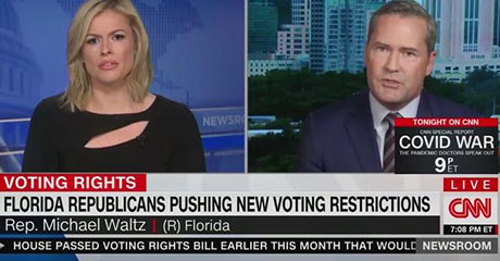 Florida congressman explains Florida's success to befuddled CNN ideologue