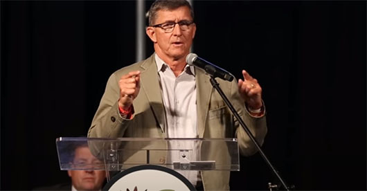Gen. Michael Flynn in Nashville: 'Decide who you are'