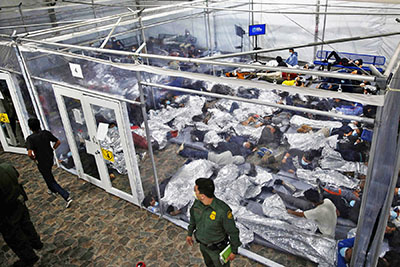 Where's the media? 18,000 kids in cages on the border vs 2,600 at most during Trump era
