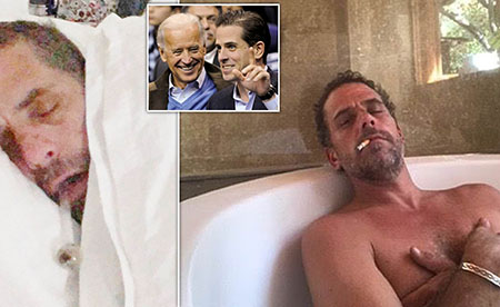 Overlords' message to us peasants: Hunter Biden gets a pass; You don't