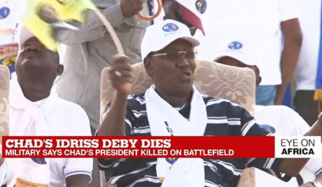 Pro-West Chad President Déby killed by rebels