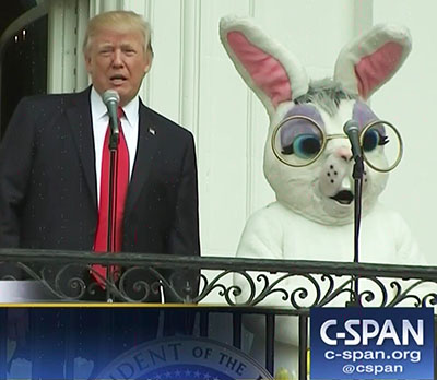 'Happy Easter'! Trump blasts media for ignoring election fraud; Pastor evicts covid cops: 'Gestapo, get out'