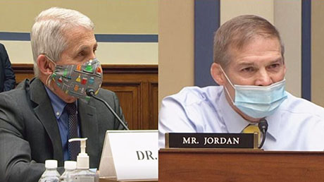 Fauci on the grill: Rep. Jim Jordan had a simple question; The doctor has no answer
