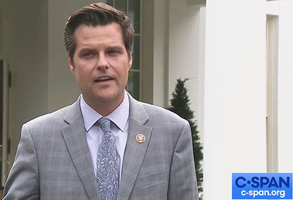 Democrats targeting Gaetz also champion policies that sexualize America's youth