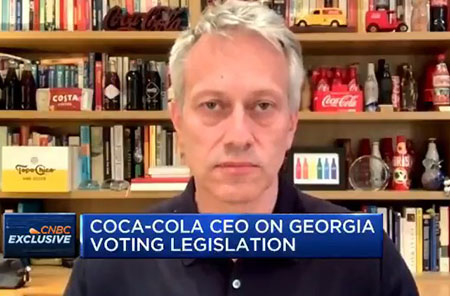 Coca-Cola is as American as Chinese Communist repression