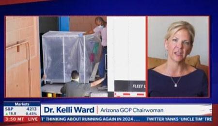 Arizona GOP chair: 'America's audit continues'; Brennan Center urges DOJ intervention