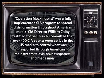 'Operation Mockingbird': Is the CIA still using the corporate media?