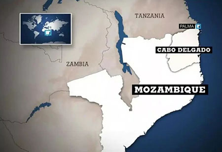 Beheadings are back as ISIS attacks town near LNG site on Mozambique's coast