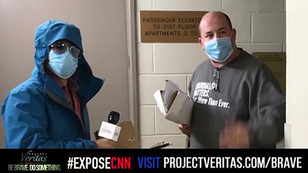 'Journalism Matters'? Project Veritas confronts Brian Stelter over CNN propaganda